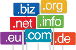 TLDs signs